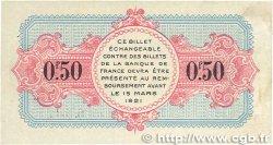 50 Centimes FRANCE régionalisme et divers Annecy 1917 JP.010.09 TTB+