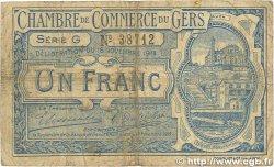 1 Franc FRANCE régionalisme et divers AUCH 1914 JP.015.07 B
