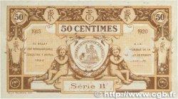 50 Centimes FRANCE régionalisme et divers Aurillac 1915 JP.016.01 SUP