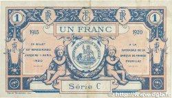 1 Franc FRANCE régionalisme et divers AURILLAC 1915 JP.016.04 TTB+