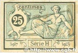25 Centimes FRANCE régionalisme et divers Aurillac 1917 JP.016.11 TTB
