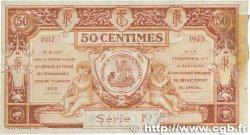 50 Centimes FRANCE régionalisme et divers AURILLAC 1917 JP.016.12 TTB