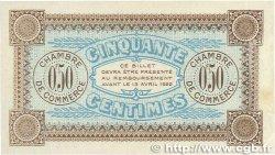50 Centimes FRANCE régionalisme et divers AUXERRE 1917 JP.017.16 SUP
