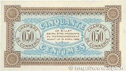 50 Centimes FRANCE régionalisme et divers AUXERRE 1917 JP.017.16 SUP+