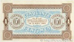 50 Centimes FRANCE régionalisme et divers Auxerre 1920 JP.017.25 SUP