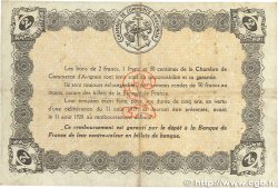2 Francs FRANCE régionalisme et divers AVIGNON 1915 JP.018.08 TTB