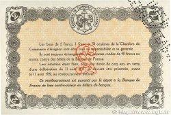 2 Francs FRANCE régionalisme et divers Avignon 1915 JP.018.09 SUP+