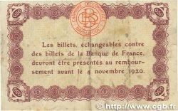 50 Centimes FRANCE régionalisme et divers BAR-LE-DUC 1918 JP.019.01 pr.TTB
