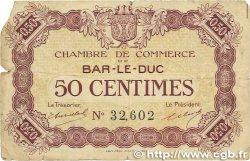 50 Centimes FRANCE régionalisme et divers BAR-LE-DUC 1918 JP.019.01 B