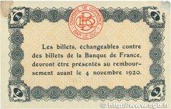 1 Franc FRANCE régionalisme et divers BAR-LE-DUC 1918 JP.019.03 TTB