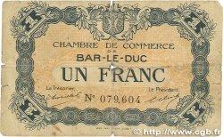1 Franc FRANCE régionalisme et divers Bar-Le-Duc 1918 JP.019.03 B