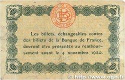 50 Centimes FRANCE régionalisme et divers Bar-Le-Duc 1920 JP.019.07 pr.TTB