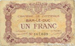 1 Franc FRANCE régionalisme et divers Bar-Le-Duc 1920 JP.019.08 TB