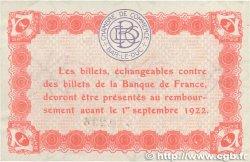 1 Franc FRANCE régionalisme et divers BAR-LE-DUC 1917 JP.019.15 SUP+