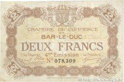 2 Francs FRANCE régionalisme et divers BAR-LE-DUC 1917 JP.019.17 TTB