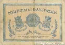 2 Francs FRANCE régionalisme et divers BAYONNE 1915 JP.021.19 TB