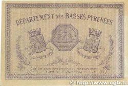 50 Centimes FRANCE régionalisme et divers Bayonne 1918 JP.021.57 TTB