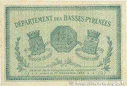50 Centimes FRANCE régionalisme et divers BAYONNE 1919 JP.021.61 TTB