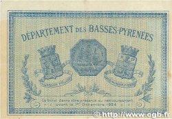 1 Franc FRANCE régionalisme et divers BAYONNE 1919 JP.021.64 pr.TTB