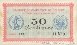 50 Centimes FRANCE régionalisme et divers BELFORT 1916 JP.023.17 SUP