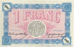 1 Franc FRANCE régionalisme et divers BELFORT 1917 JP.023.32 TTB+
