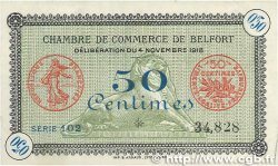 50 Centimes FRANCE régionalisme et divers Belfort 1918 JP.023.34 pr.SUP