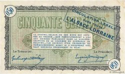 50 Centimes FRANCE régionalisme et divers Belfort 1918 JP.023.41 pr.TTB