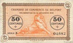 50 Centimes FRANCE régionalisme et divers Belfort 1918 JP.023.48 pr.TTB