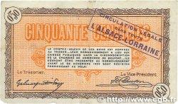 50 Centimes FRANCE régionalisme et divers BELFORT 1918 JP.023.52 TTB
