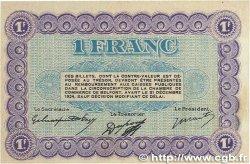 1 Franc FRANCE régionalisme et divers BELFORT 1921 JP.023.60 pr.SUP