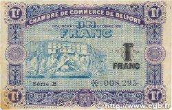 1 Franc FRANCE régionalisme et divers BELFORT 1921 JP.023.62 TB