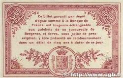 50 Centimes FRANCE régionalisme et divers Bergerac 1914 JP.024.03 SUP+