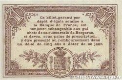1 Franc FRANCE régionalisme et divers Bergerac 1914 JP.024.04 SUP