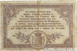 1 Franc FRANCE régionalisme et divers BERGERAC 1914 JP.024.04 TB