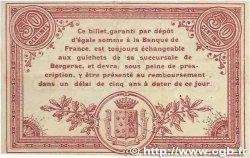 50 Centimes FRANCE régionalisme et divers Bergerac 1914 JP.024.03 TTB+