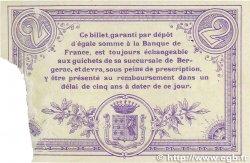 2 Francs FRANCE régionalisme et divers Bergerac 1914 JP.024.22 SUP