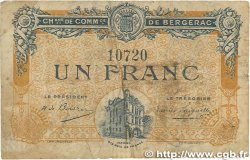 1 Franc FRANCE régionalisme et divers BERGERAC 1918 JP.024.33 B