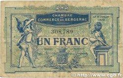 1 Franc FRANCE régionalisme et divers BERGERAC 1920 JP.024.37 B