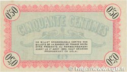 50 Centimes FRANCE régionalisme et divers Besançon 1915 JP.025.03 pr.NEUF