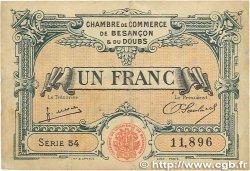1 Franc FRANCE régionalisme et divers BESANÇON 1922 JP.025.27 B
