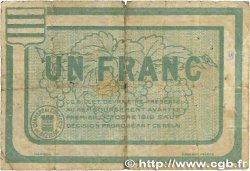 1 Franc FRANCE régionalisme et divers Béziers 1915 JP.027.10 B