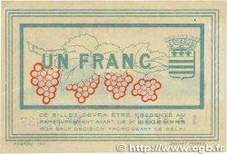 1 Franc FRANCE régionalisme et divers BÉZIERS 1921 JP.027.33 TTB+
