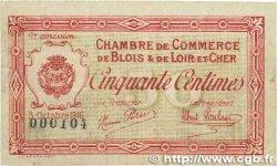 50 Centimes FRANCE régionalisme et divers Blois 1916 JP.028.05 TTB