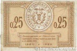 25 Centimes FRANCE régionalisme et divers Bolbec 1920 JP.029.01 TTB