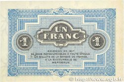 1 Franc FRANCE régionalisme et divers BORDEAUX 1917 JP.030.14 SUP