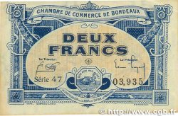 2 Francs FRANCE régionalisme et divers Bordeaux 1920 JP.030.27 TTB