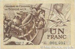 1 Franc FRANCE régionalisme et divers Bordeaux 1921 JP.030.30 TTB