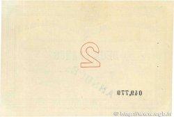 2 Francs FRANCE régionalisme et divers  1914 JP.031.09var. pr.SPL