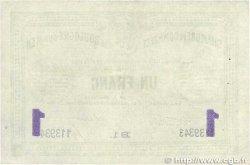 1 Franc FRANCE régionalisme et divers BOULOGNE-SUR-MER 1914 JP.031.24 TTB+