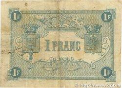 1 Franc FRANCE régionalisme et divers BOULOGNE-SUR-MER 1920 JP.031.27 TB
